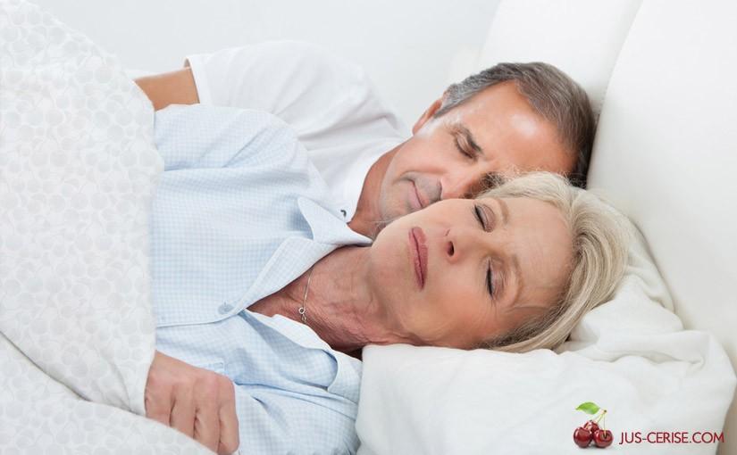 Jus de cerise et sommeil
